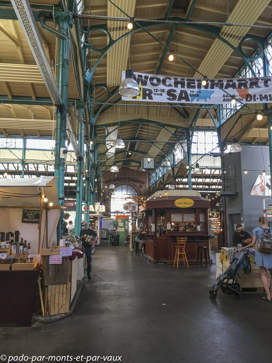 Berlin - Kreuzberg - marché couvert
