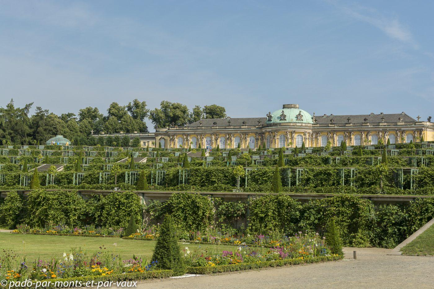 Postdam - Parc royal de Sanssouci