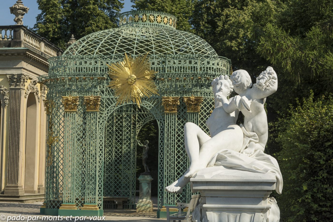 Postdam - Château de Sanssouci