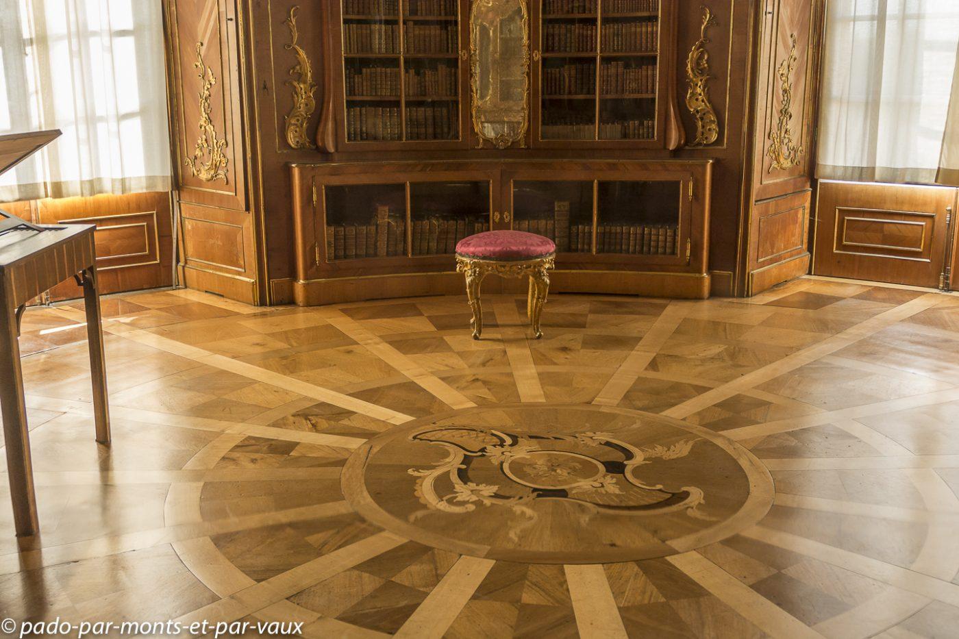 Postdam - Château de Sanssouci - Bibliothèque