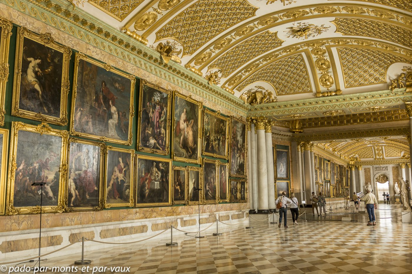Postdam - Château de Sanssouci - Galerie de peintures