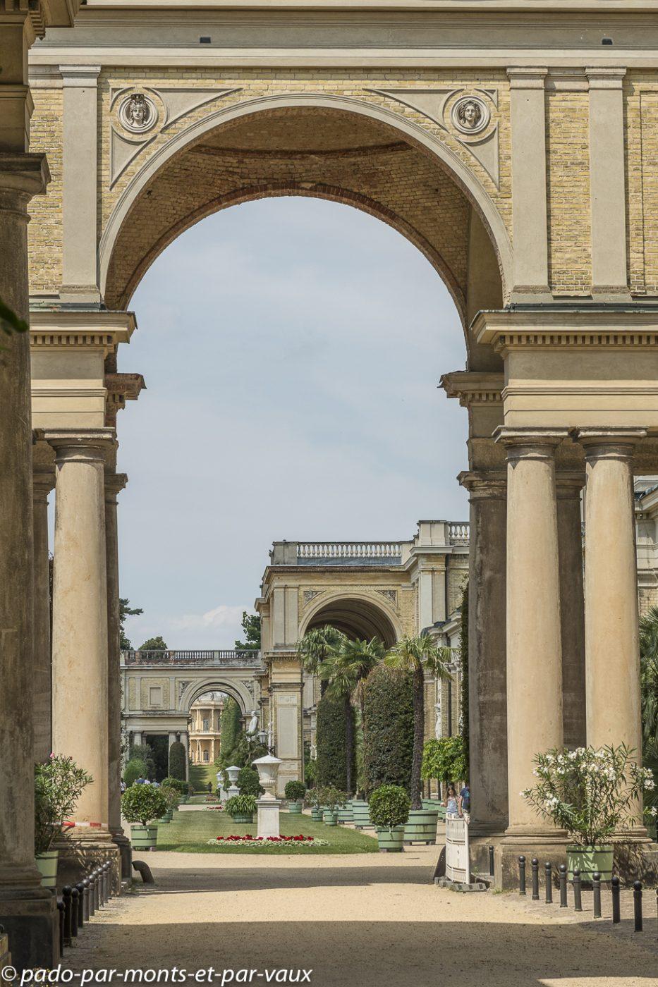 Postdam - Parc de Sanssouci - Orangerie