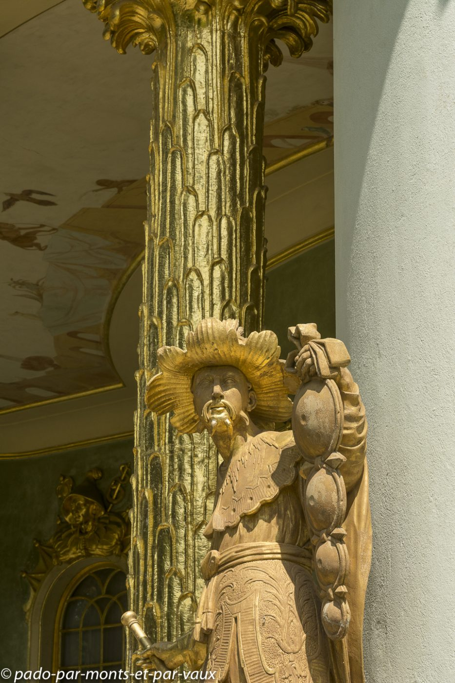 Postdam - Parc de Sanssouci - Pavillon chinois