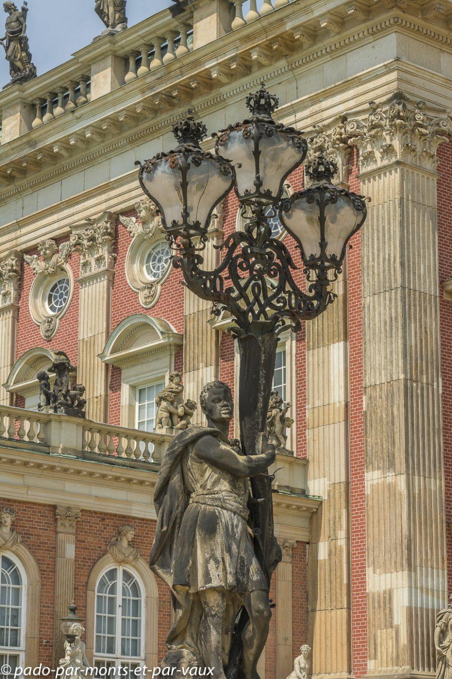 Postdam - Parc de Sanssouci - Nouveau Palais