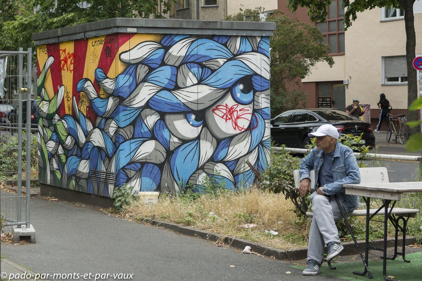 Street art Berlin - Friedrichschain