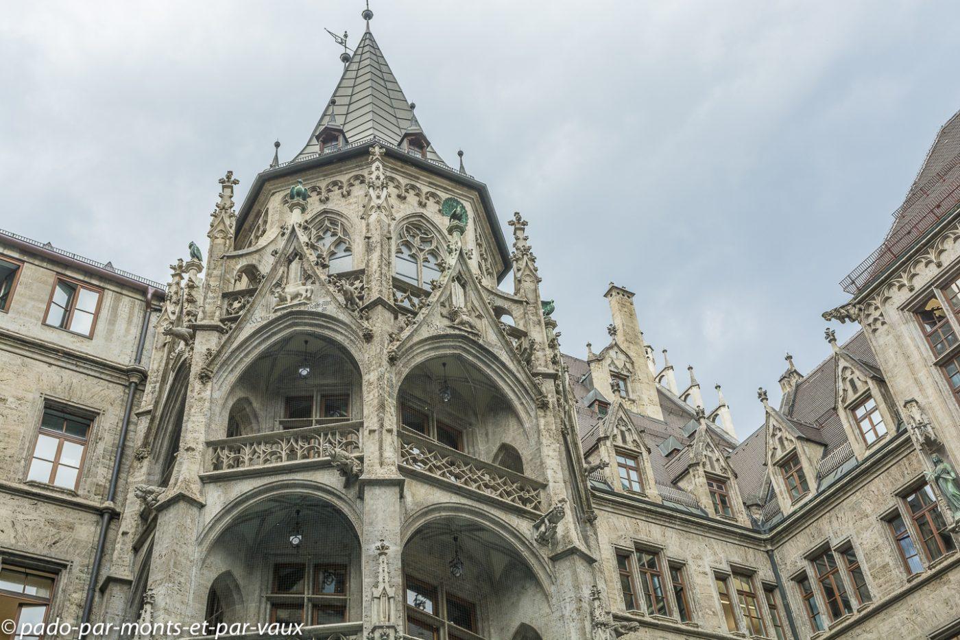 Munich -  Hôtel de ville