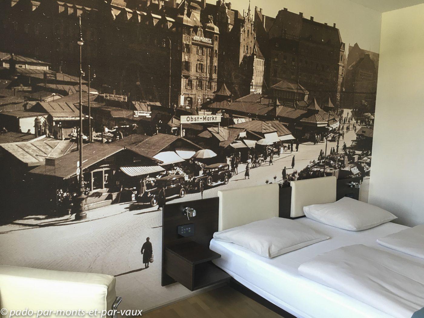 Munich - notre chambre d'hôtel