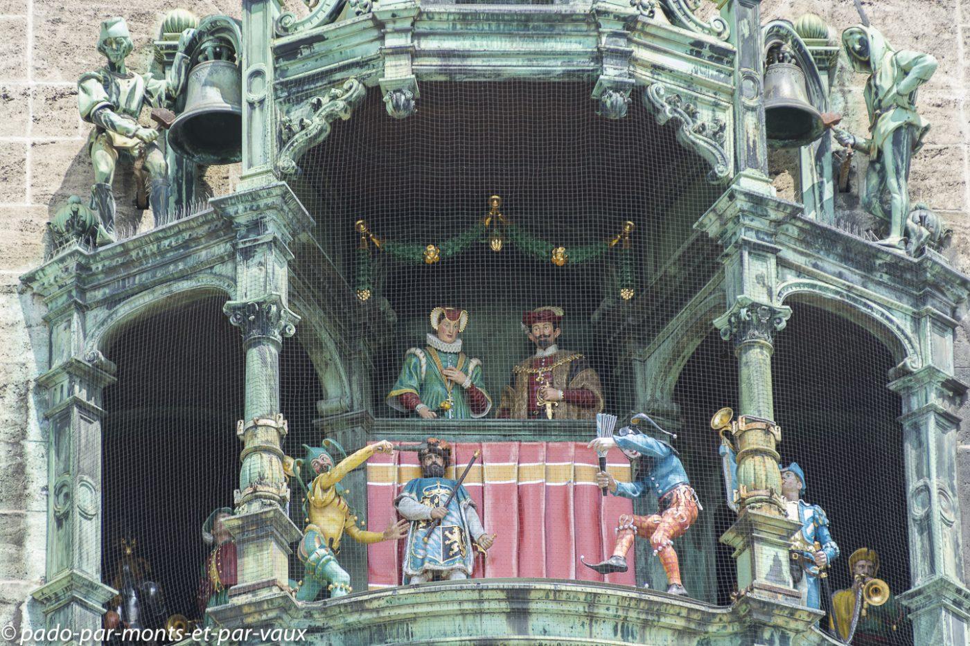 Munich - Carillon de la Rathaus