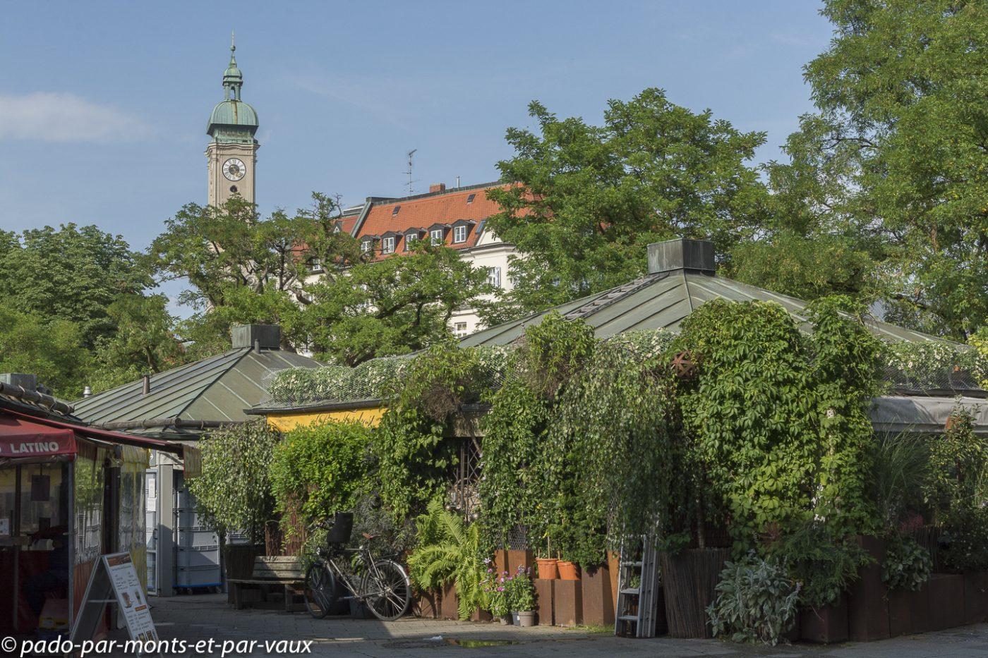 Munich - Place du marché