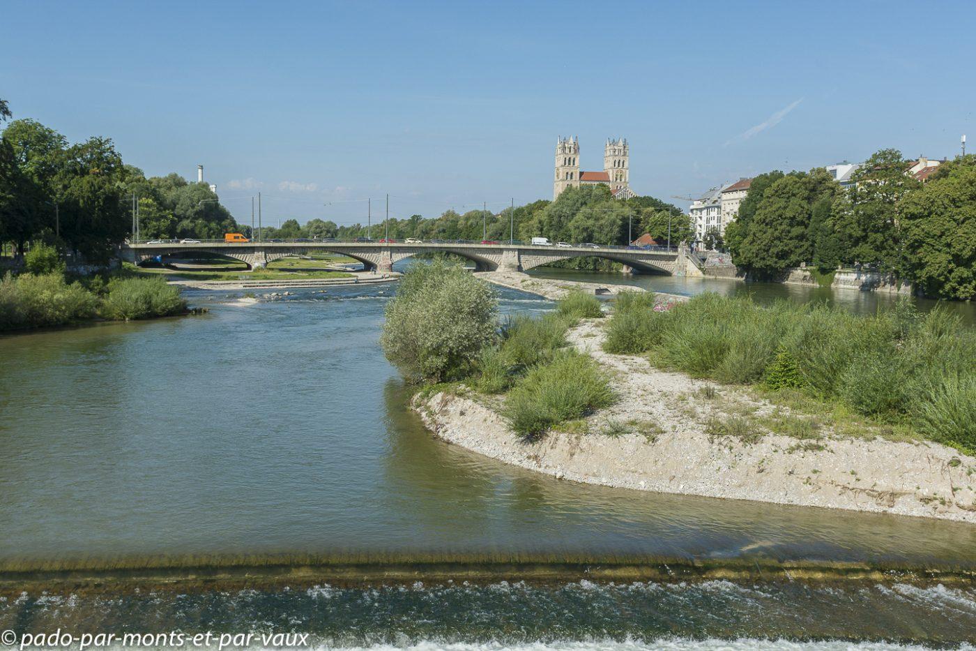 Munich - rivière Isar
