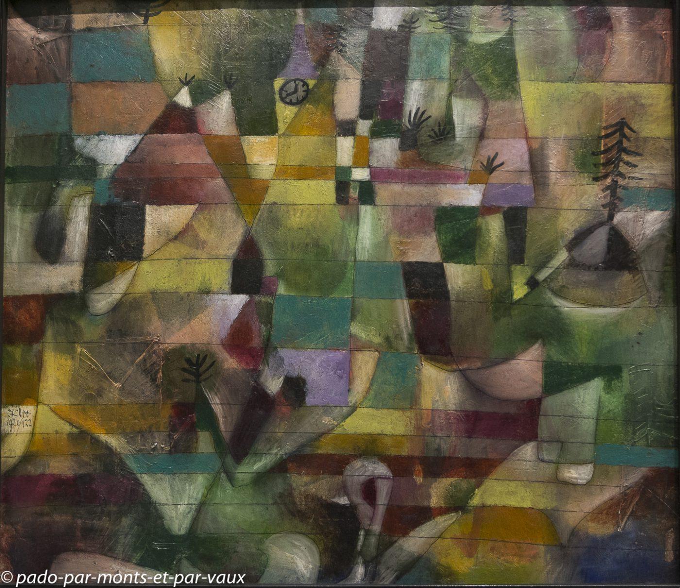 Munich pinacothèque d'art moderne - Klee