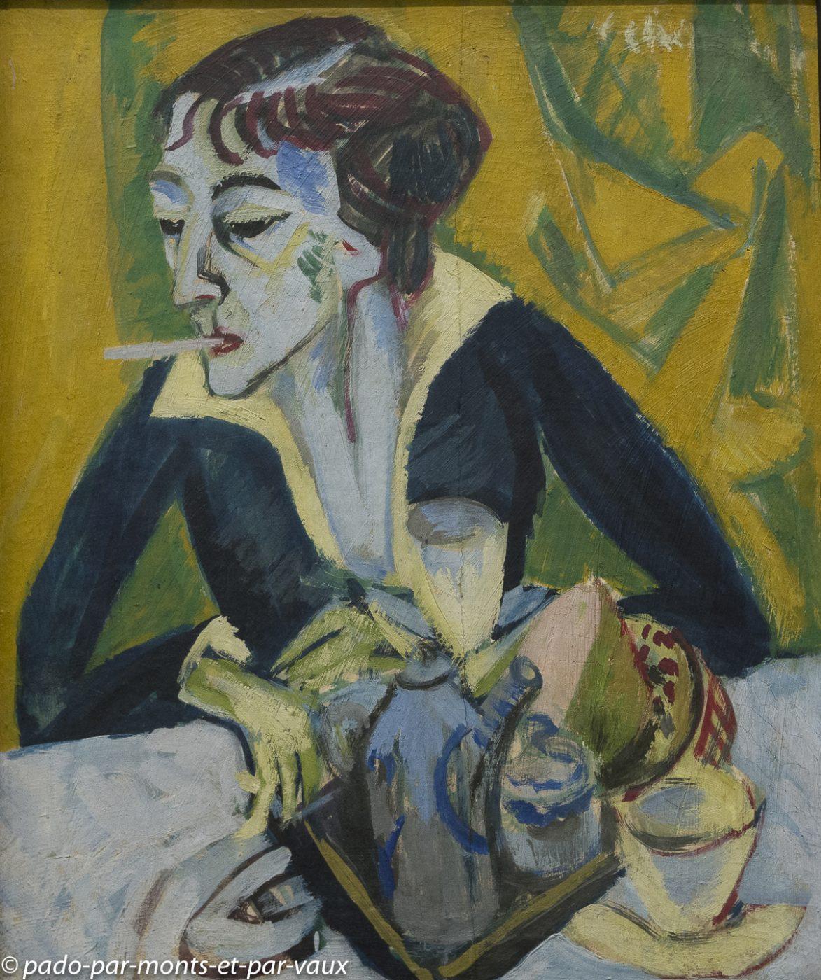 Munich pinacothèque d'art moderne - Kirchner