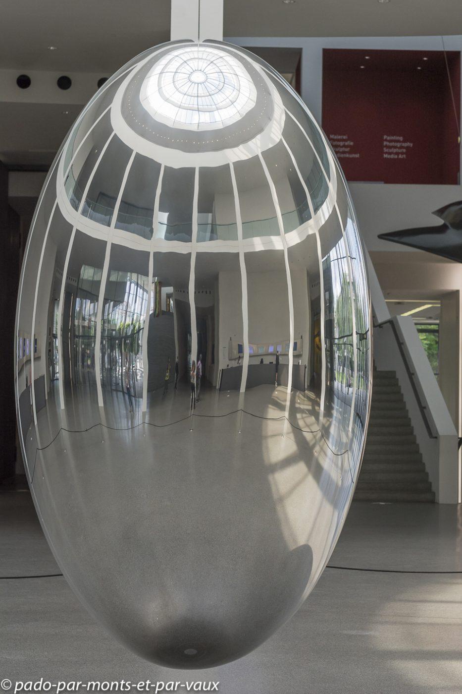 Munich pinacothèque d'art moderne