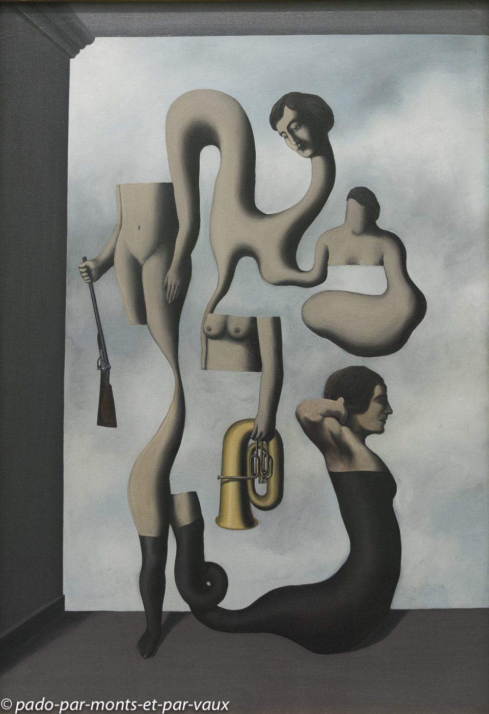 Munich pinacothèque d'art moderne - Magritte