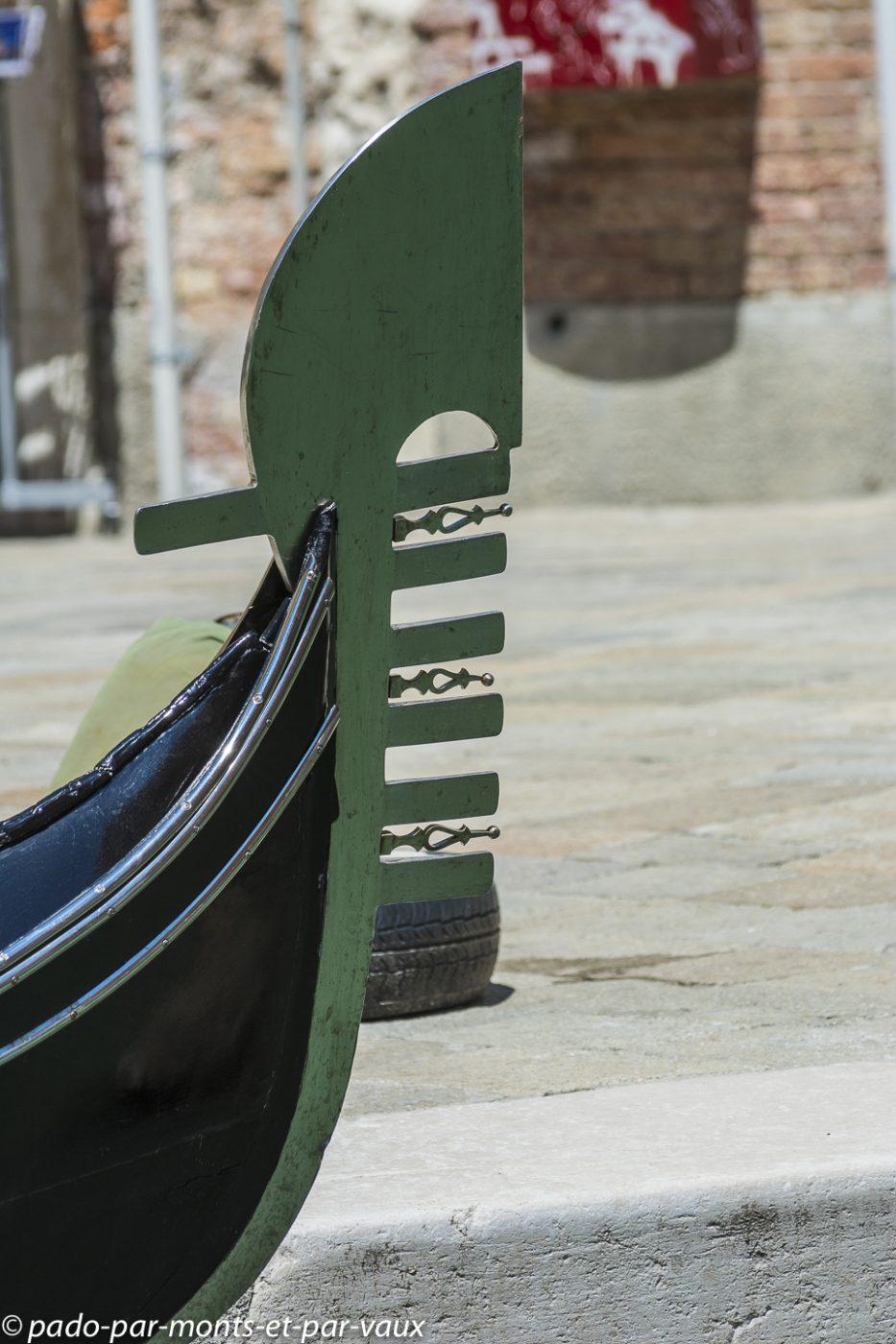 Venise  - Gondole - Fero da prova