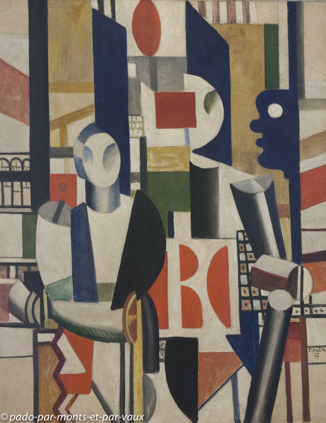 Venise - musée Guggenheim - Léger