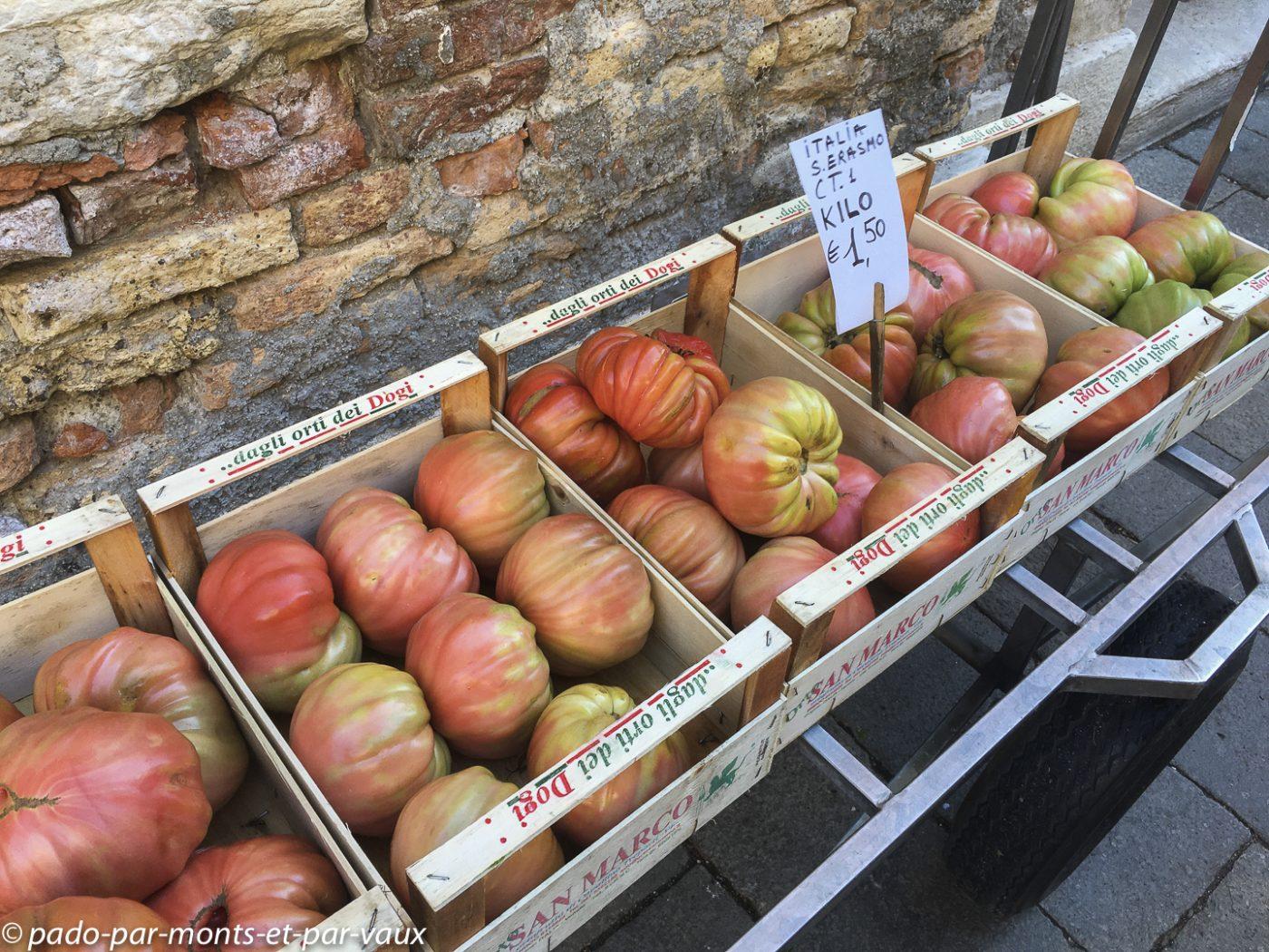 Marché du Rialto - Venise