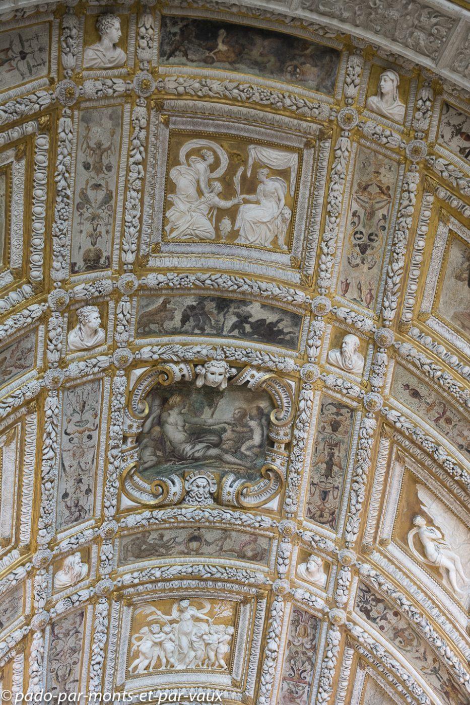 Venise - Palais des doges - Escalier d'or