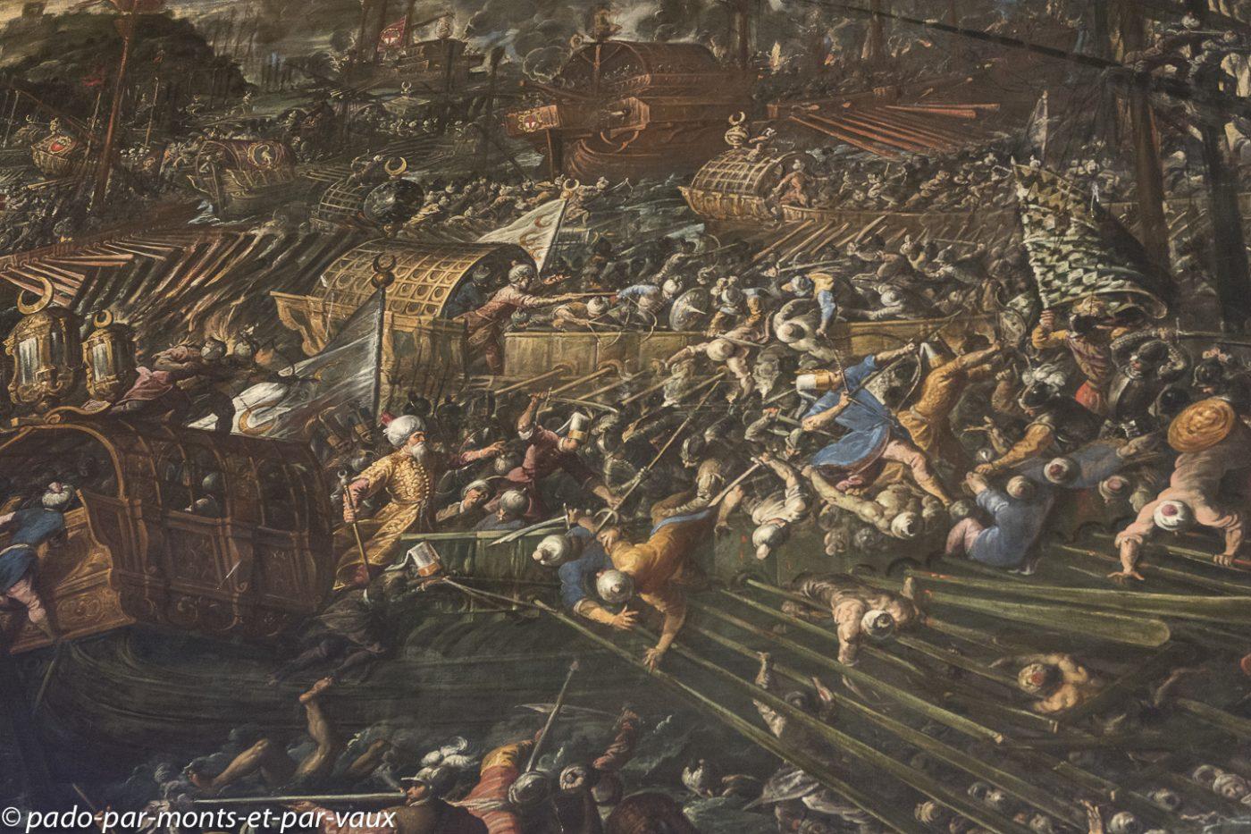 Venise - Palais des doges - Bataille de Lépante