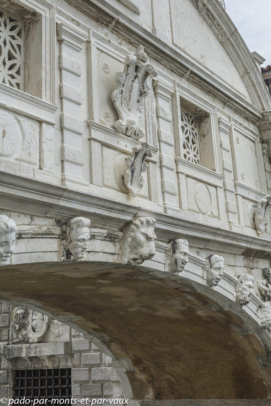Venise - Palais des doges - Pont des soupirs