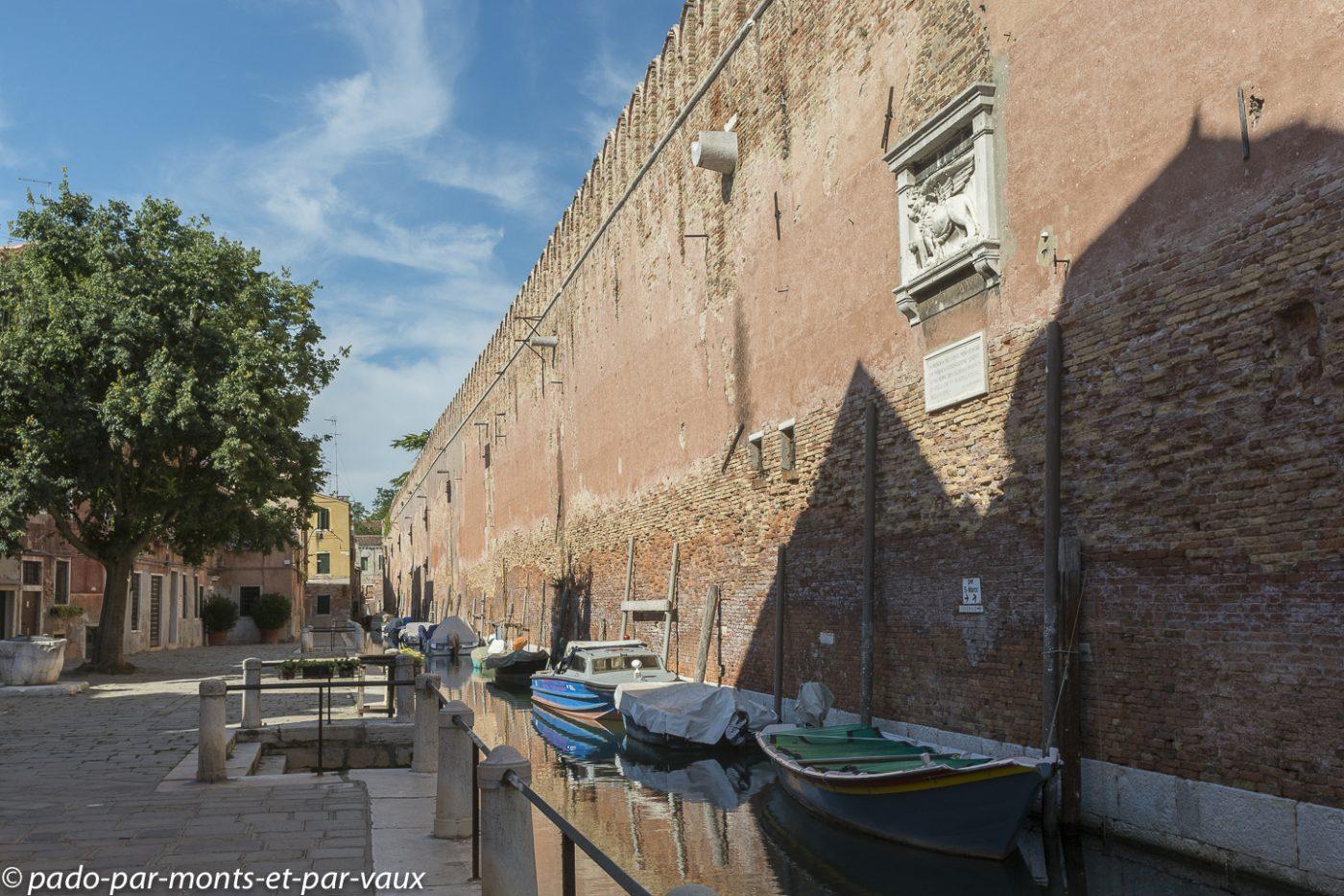 Venise - Fondamenta de Penini