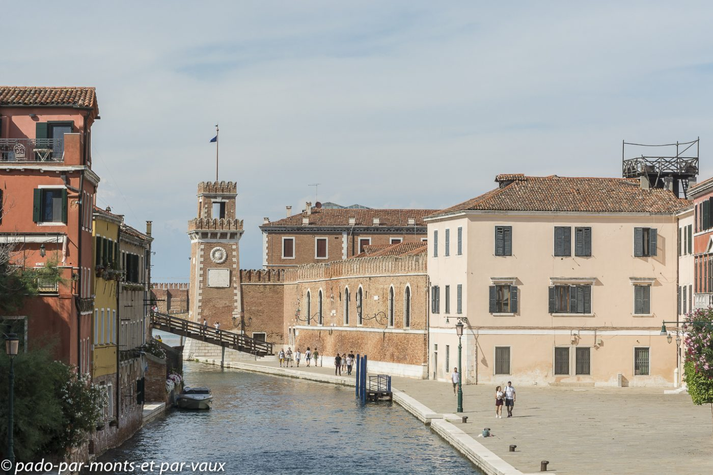 Venise -  quartier de l'Arsenal