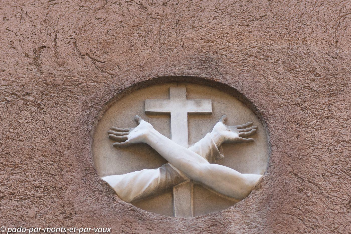 Venise - Emblème des Franciscains