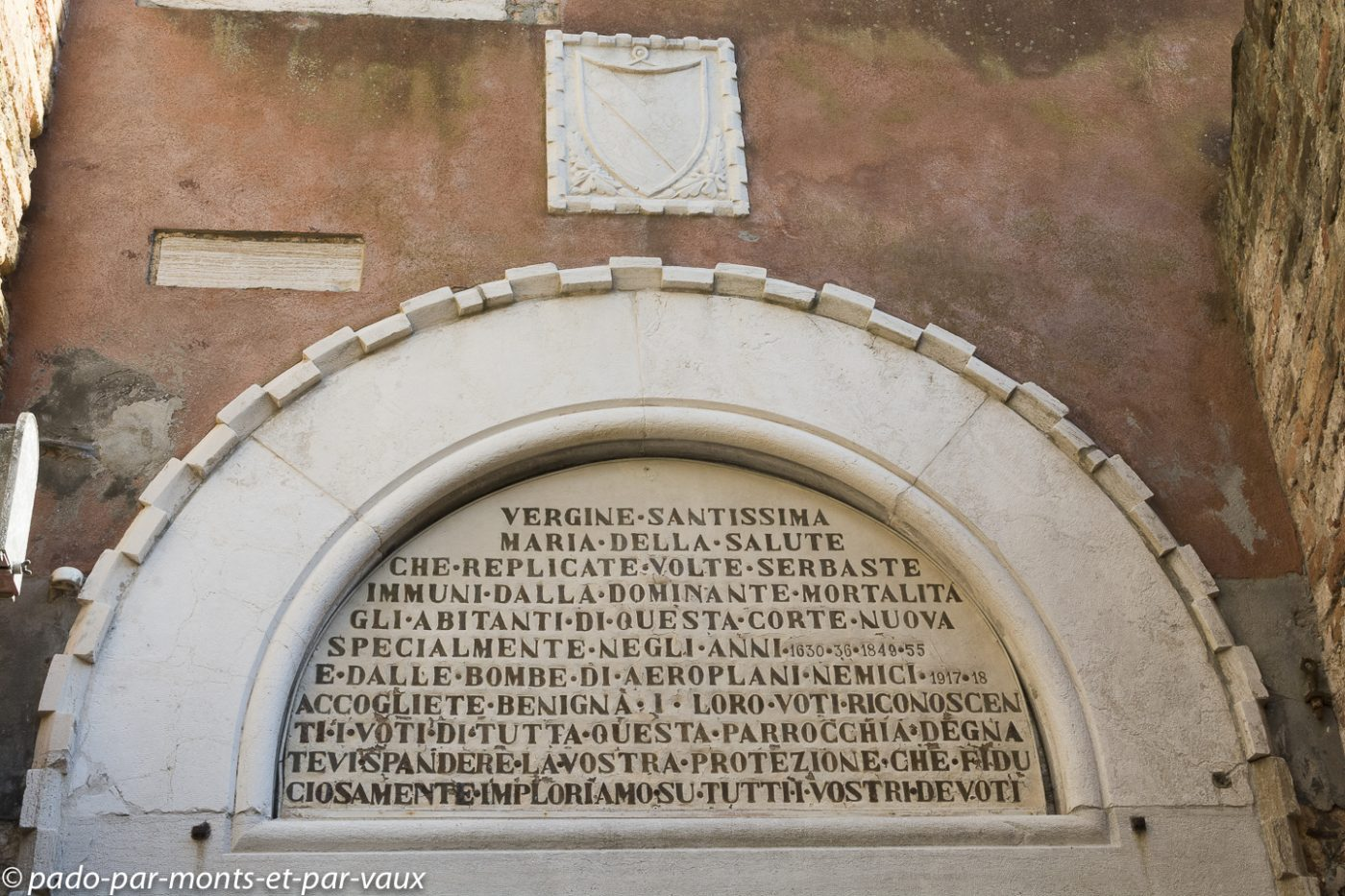 Venise -  Inscription Corte Nova