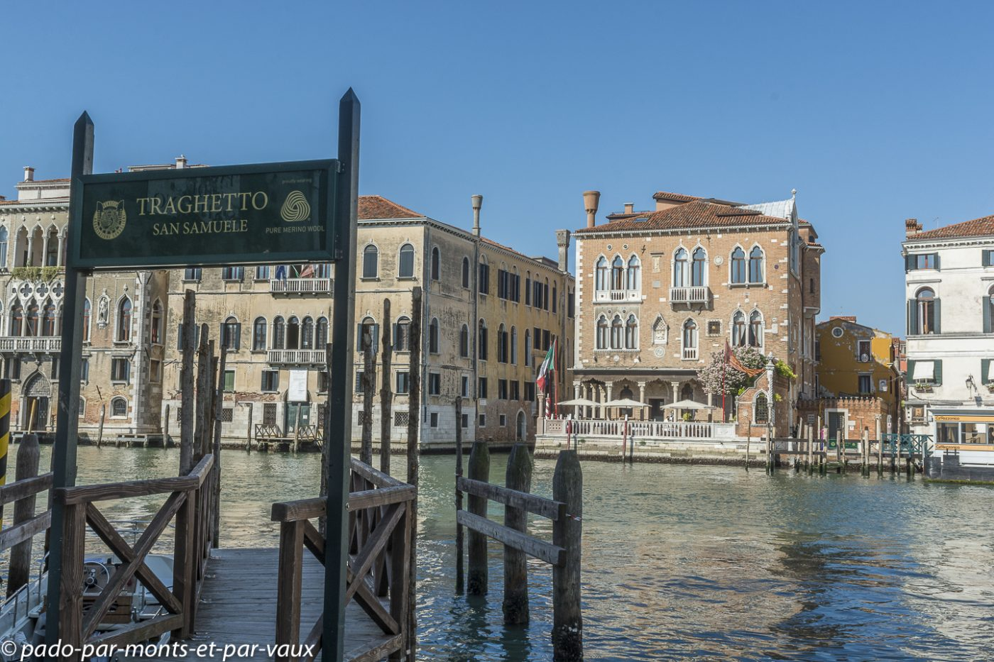 Venise - Traghetto du Campo San Samuele