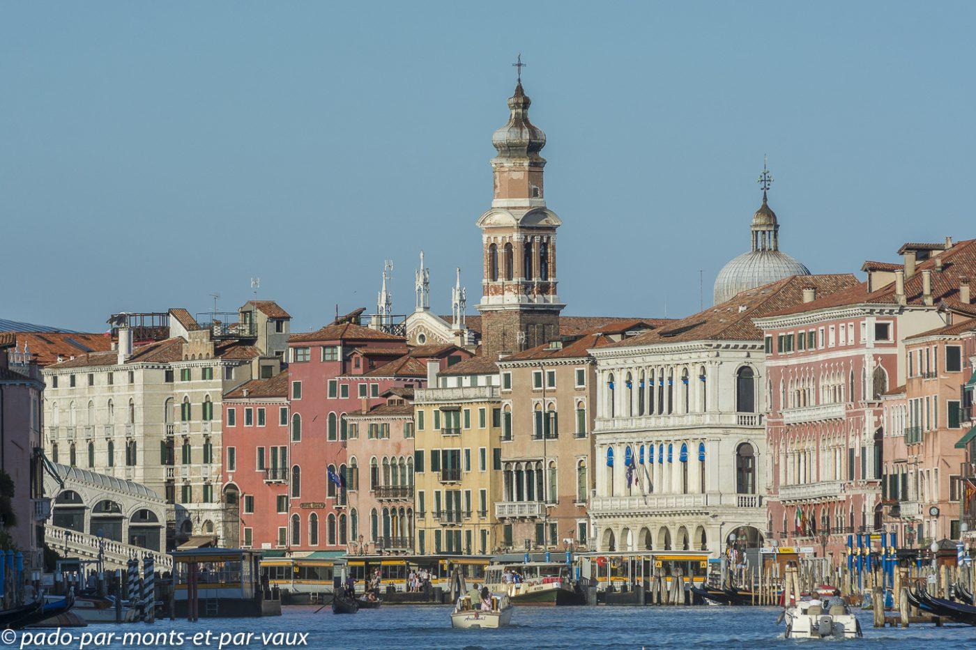 Venise grand Canal  - Rialto