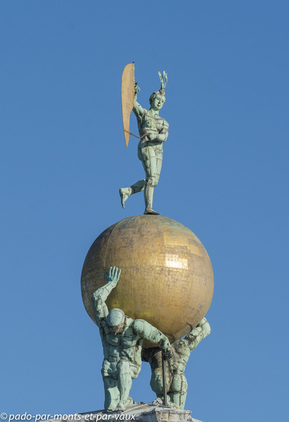 Venise -  Girouette de la Douane de Mer