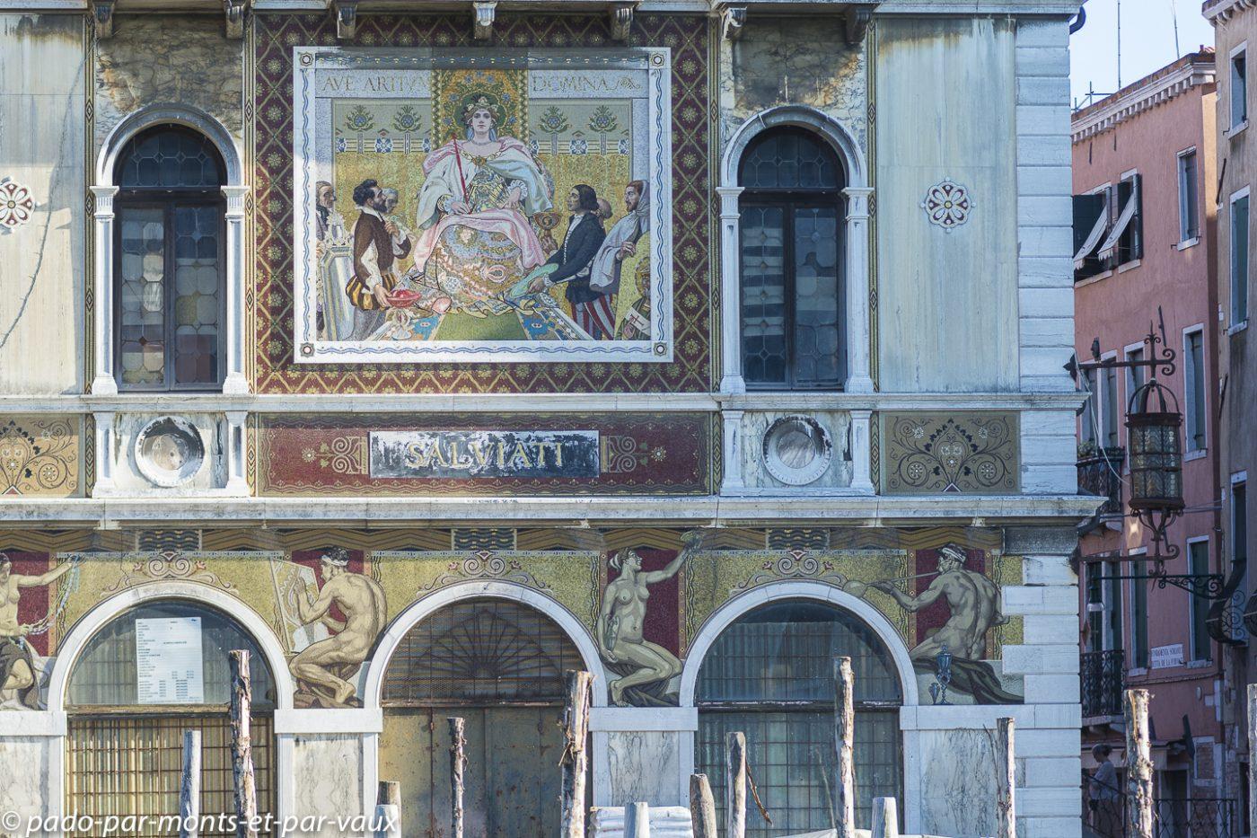 Venise grand Canal - Palazzo Salviati