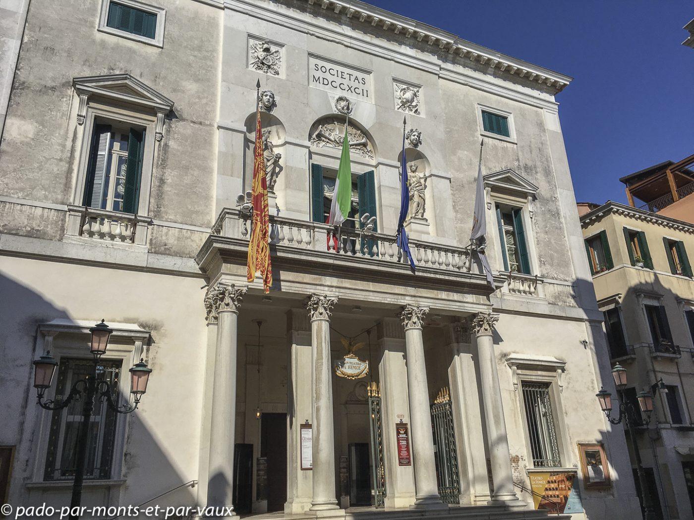 Venise - Théâtre de la Fenice