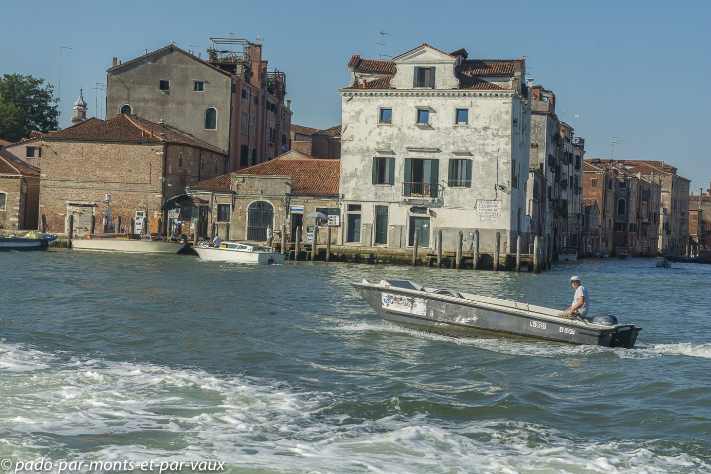 Venise - sur la lagune