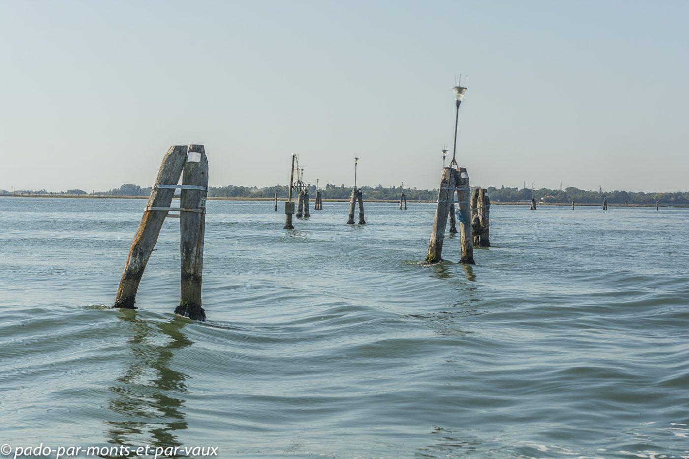 Venise - Sur la lagune - Bricoles