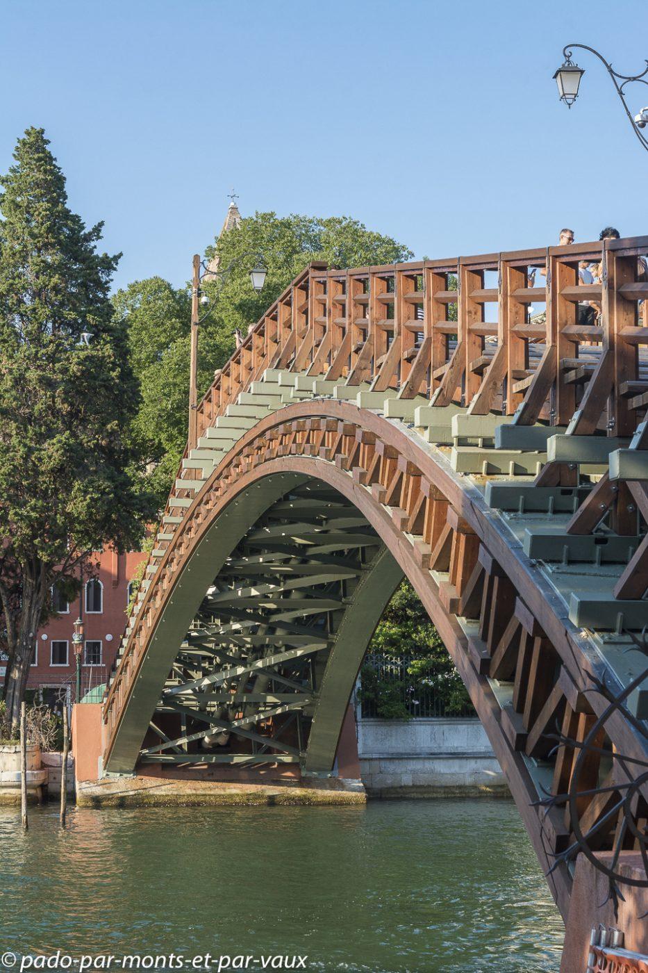Venise - Pont de l'Académie