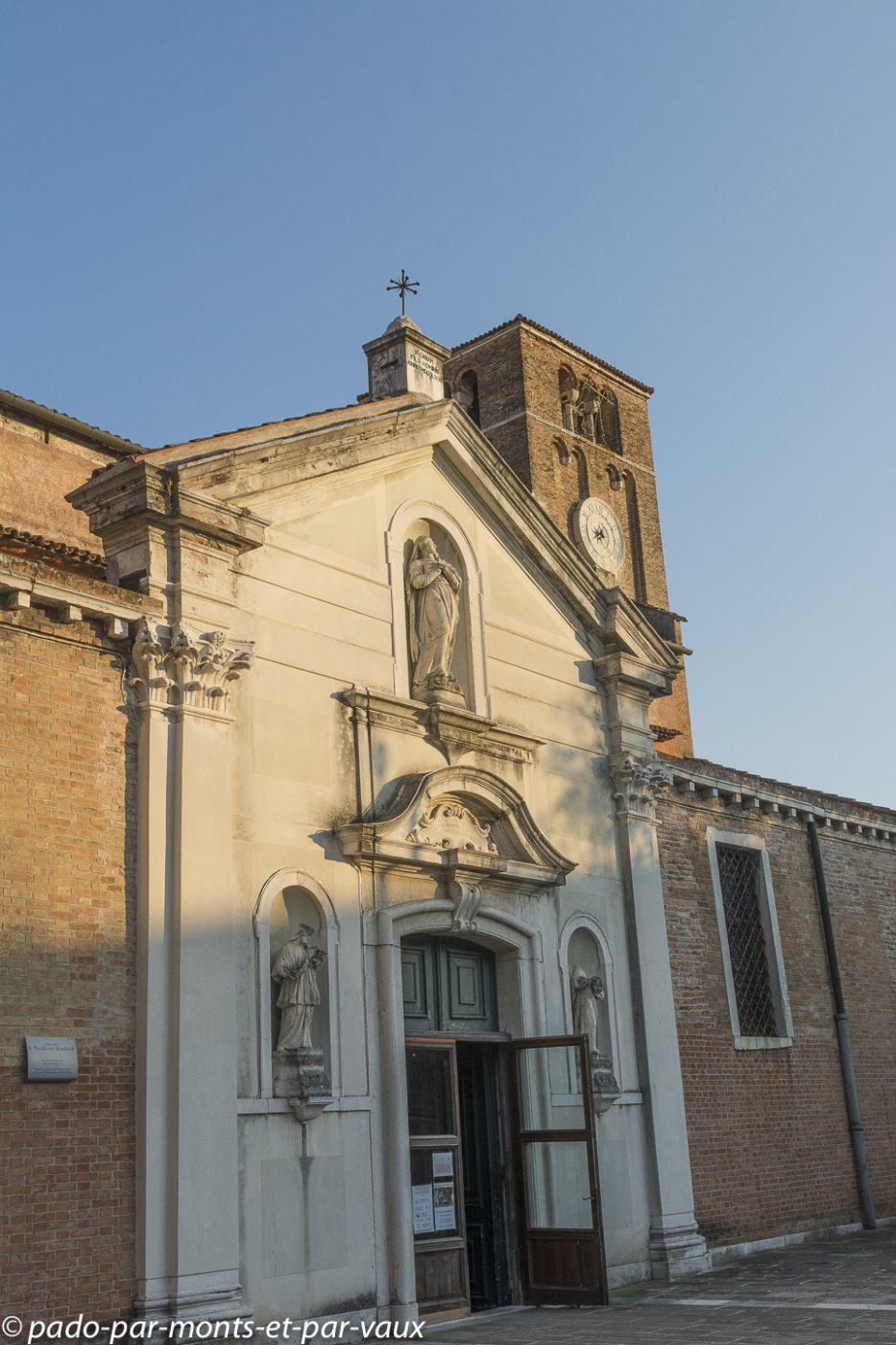 Venise - Dorsoduro - Eglise san Nicolo dei Mendicoli