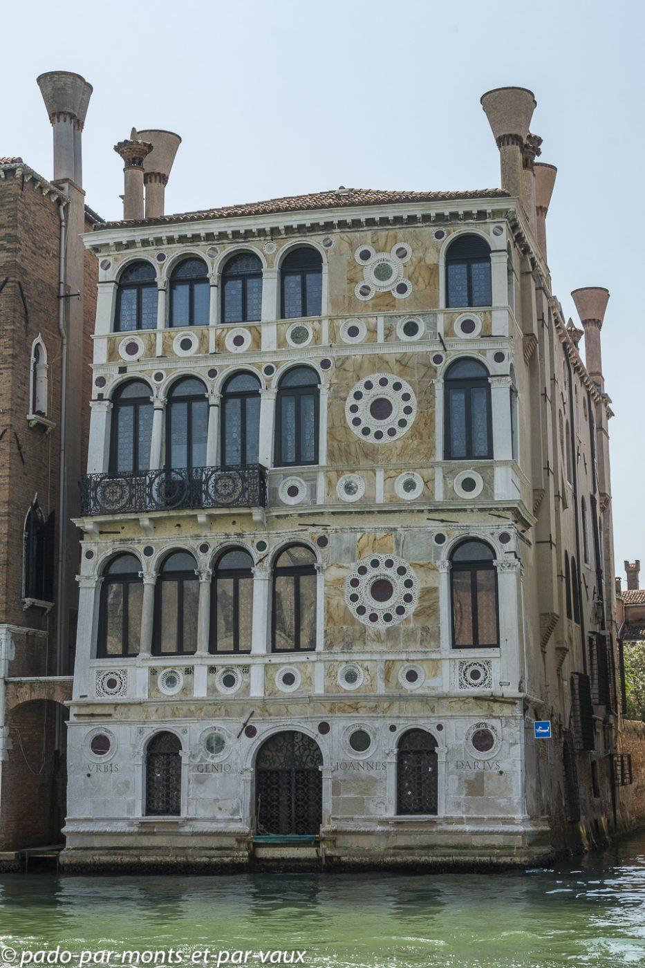 Venise - vue sur le grand canal