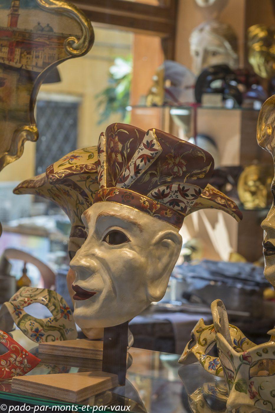 Venise - masques Papier mâché