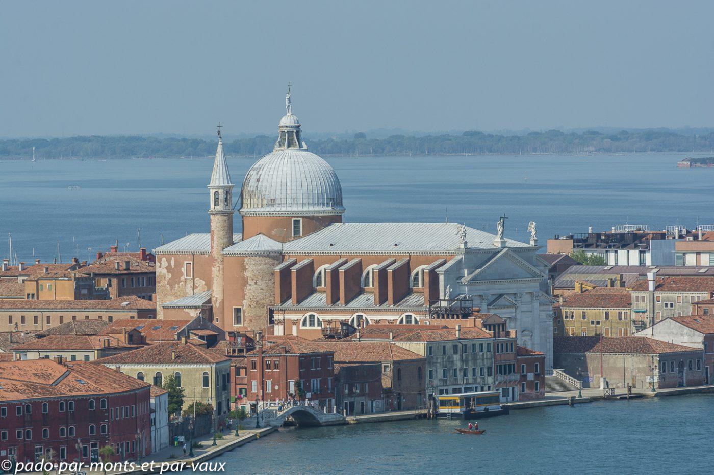 vue sur Venise  - Eglise du Redentore