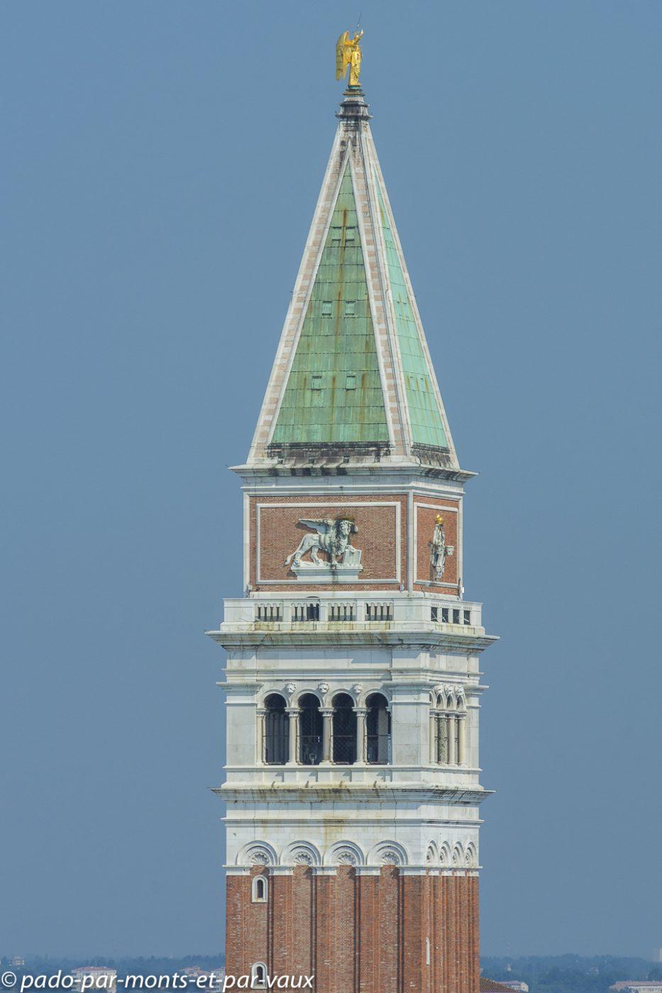 Venise  - campanile de San Marco