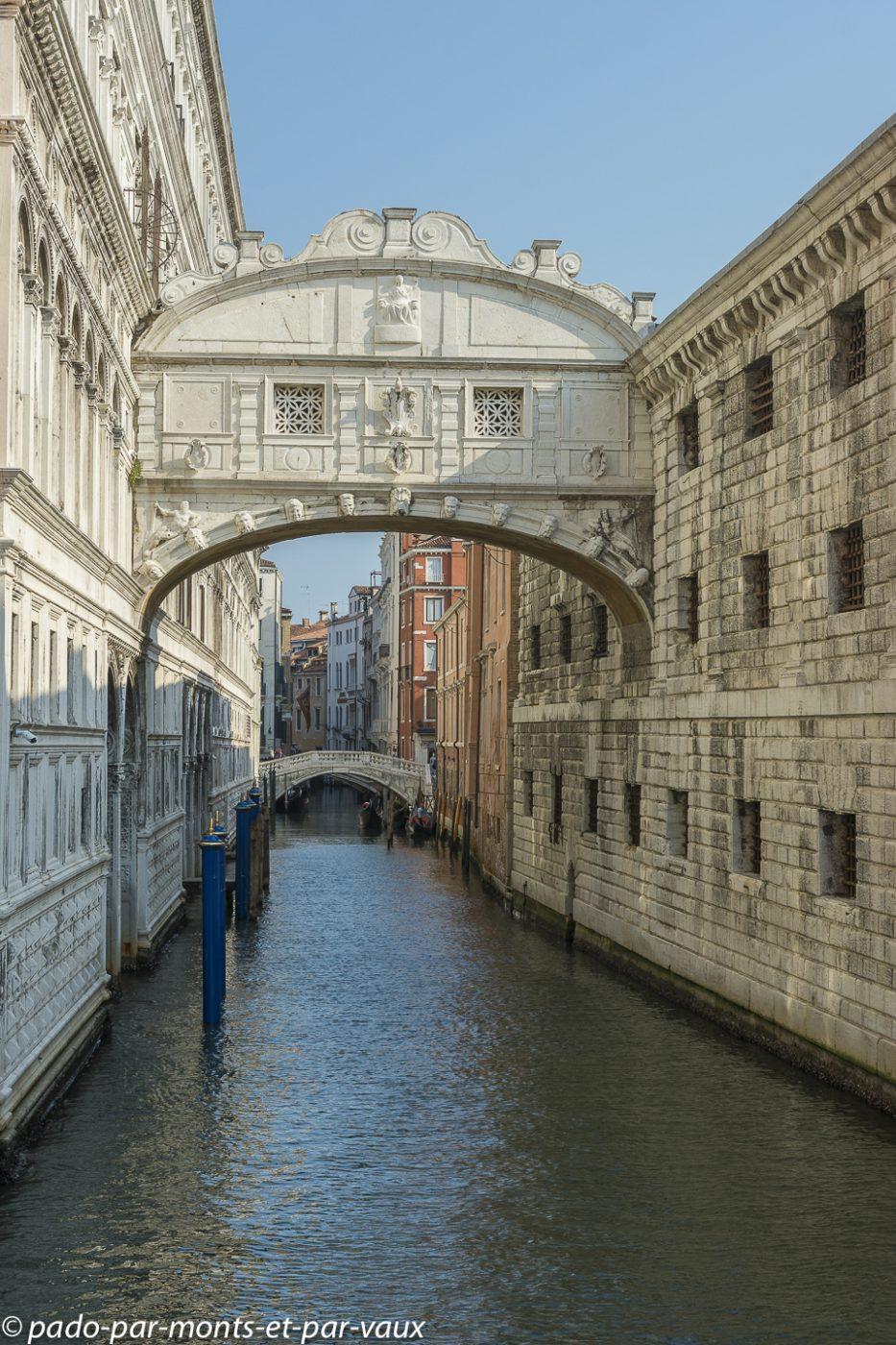 Venise - Pont des Soupirs