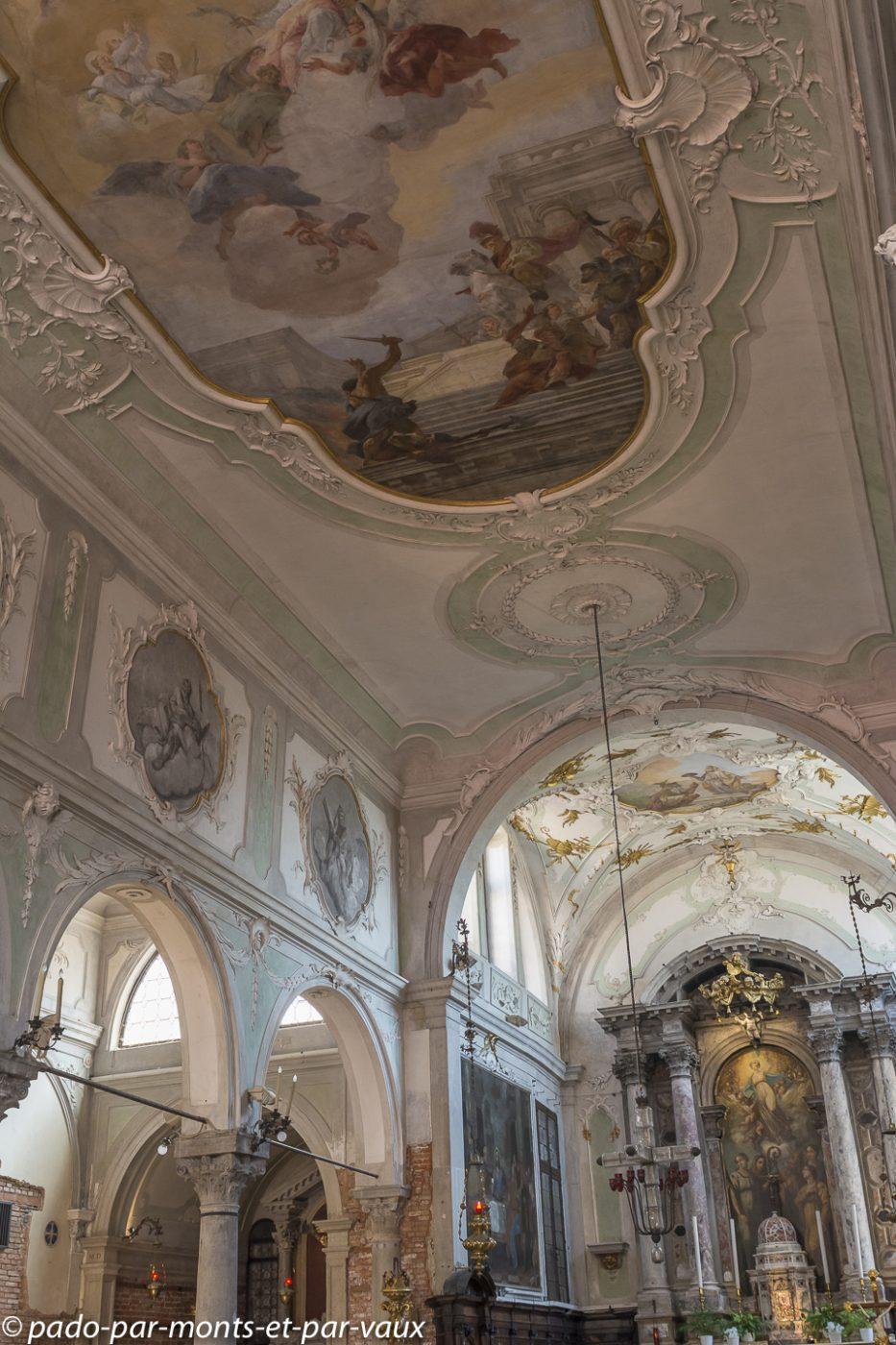 Ile de la Giudecca - église Saint Euphemia