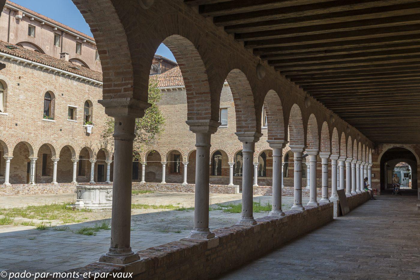 Ile de la Giudecca - Couvent Santi Cosmo e Damiano