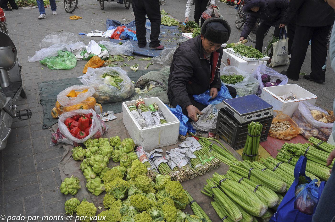 marché pékin