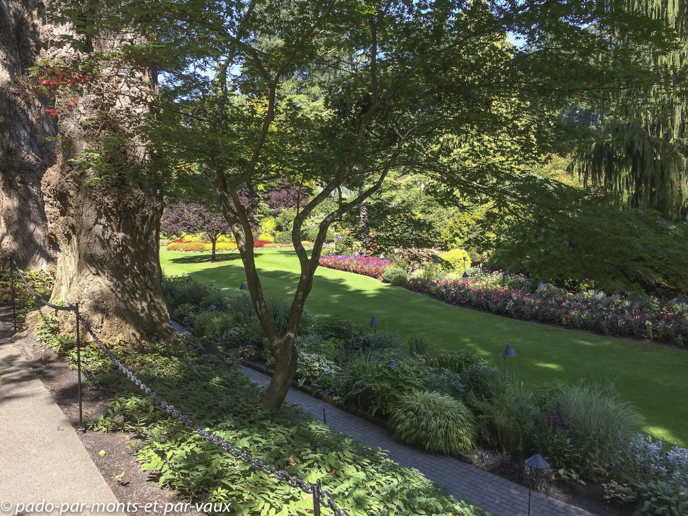 2018 The Butchart gardens