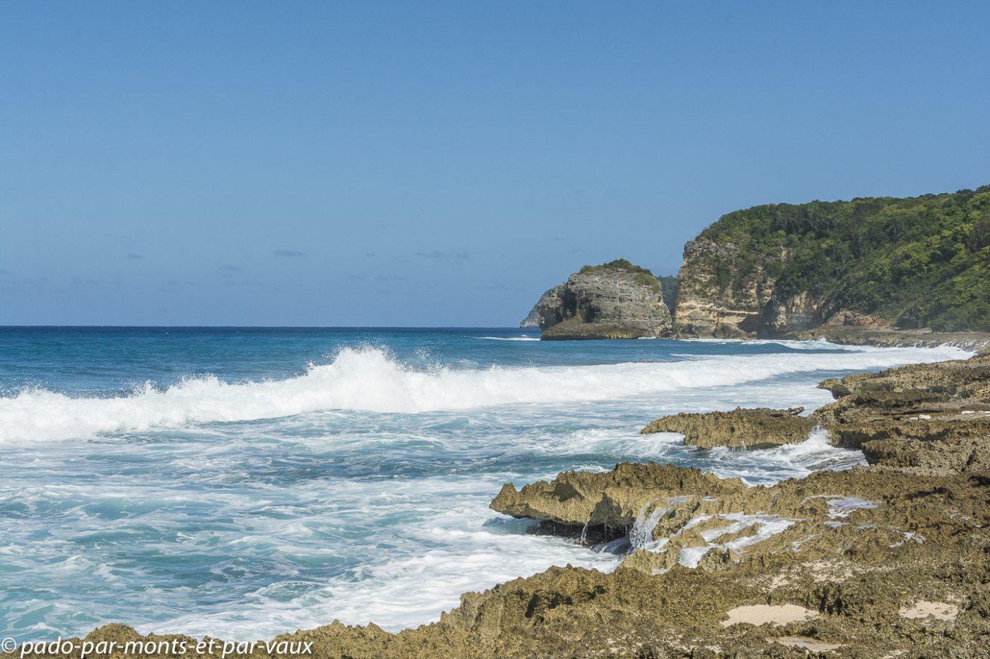 2021- Guadeloupe- Trace des pêcheurs
