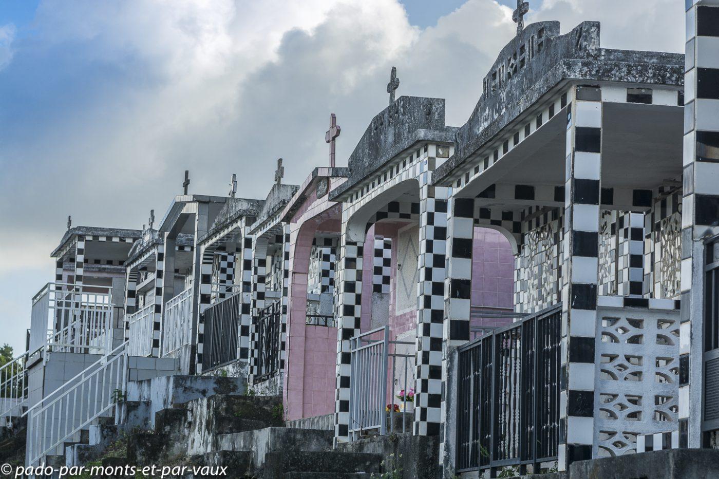 2021- Guadeloupe-Cimetière de Morne à l'Eau