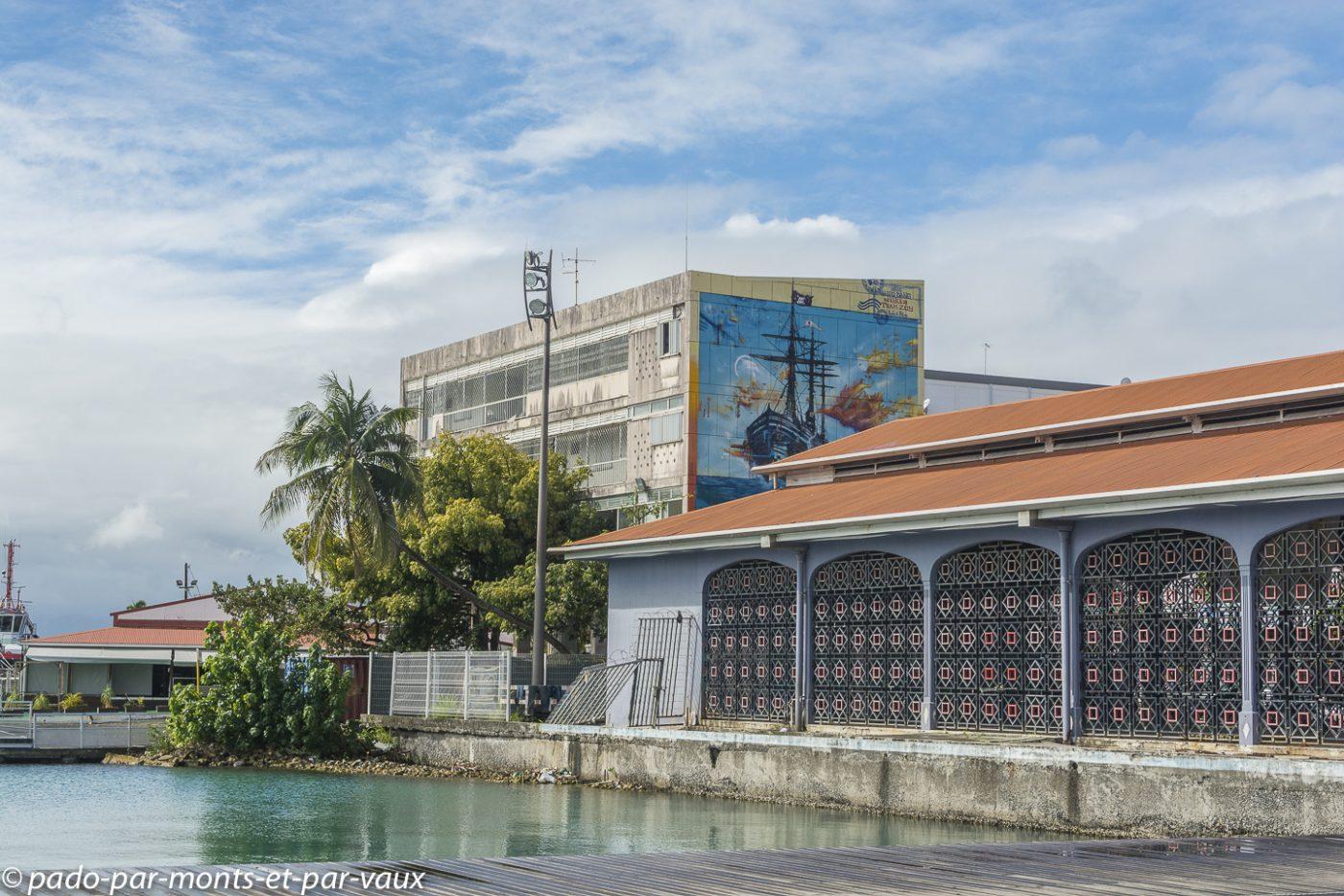 2021-Guadeloupe- Pointe à Pitre- Marché de la darse
