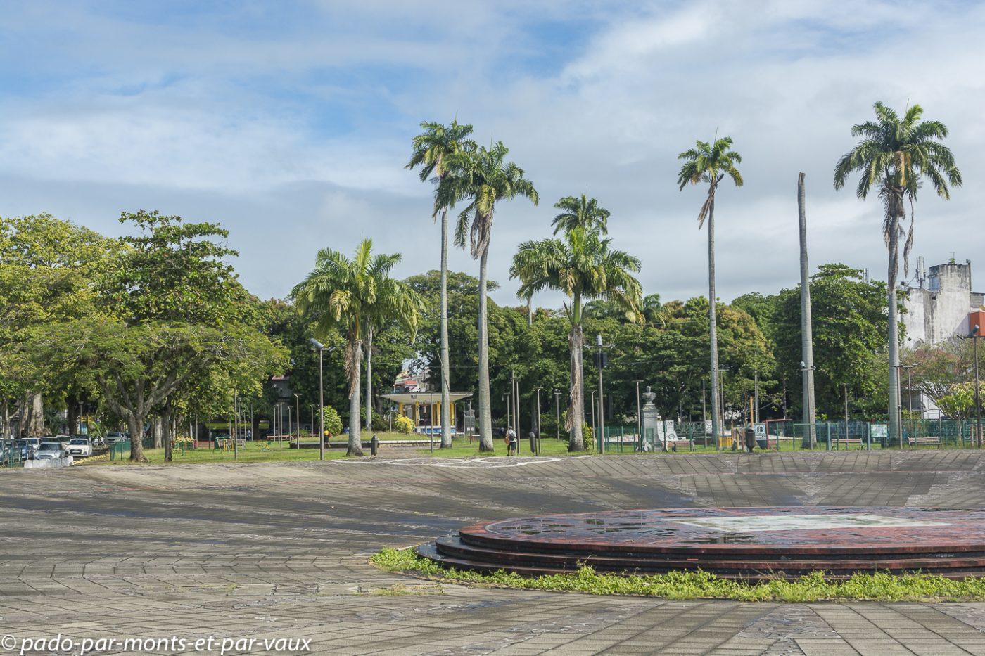 2021-Guadeloupe- Pointe à Pitre- Place de la Victoire